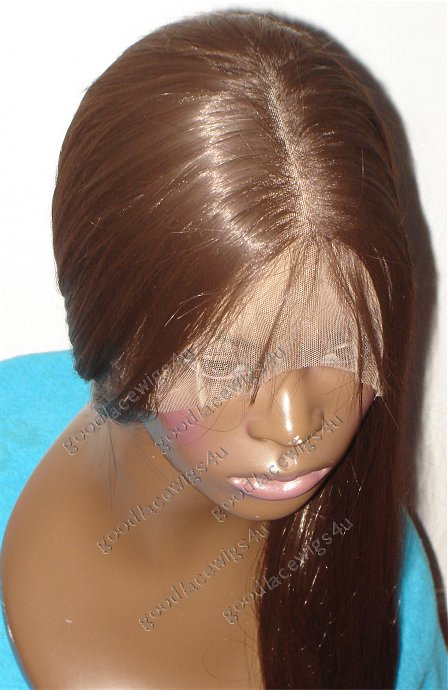 Silky Straight Full Lace Color #4 $225