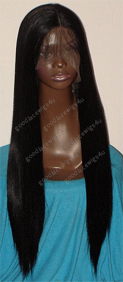 Yaki Straight Full Lace Color #1B $225