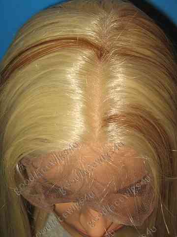 Blonde Silky Straight Full Lace with Highlights Color #613/27 $240