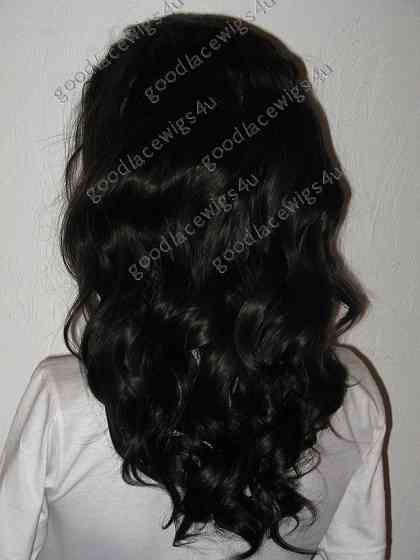 Natural Wave Texture Lace Front Wig with 5 Inch parting anywhere in front lace area