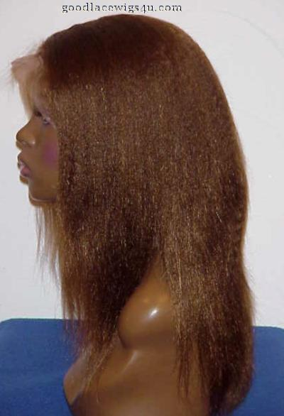 Kinky Straight Full Lace Color #4