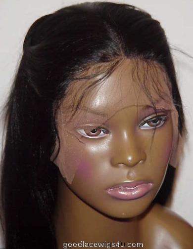 Yaki Straight Lace Front Wig Color #1 $185